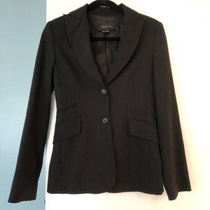 Bcbg classic black fitted blazer